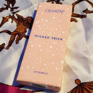 💖HP!💕 ColourPop WICKED TRICK Lip Trio NEW